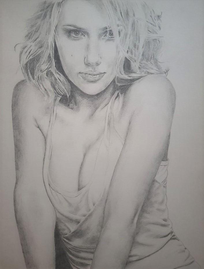 Scarlett Johansson par yoyobzh